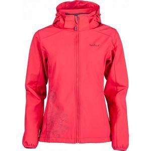 Willard MADELINE piros L - Női softshell kabát