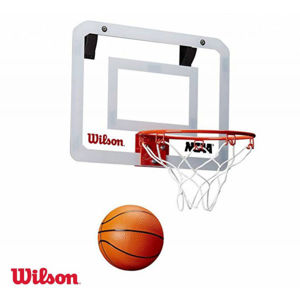 Wilson NCAA SHOWCASE MINI HOOP  NS - Mini kosárlabda szett